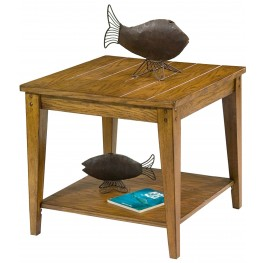 Lake House Square Lamp Table