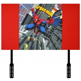 Spiderman Red - Twin Headboard