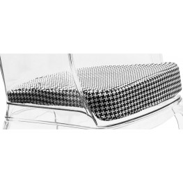 Vision Houndstooth Pattern Cushion