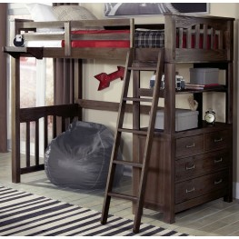 Highlands Espresso Twin Loft Bed