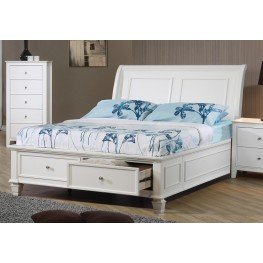 Selena Youth Sleigh Storage Bedroom Set