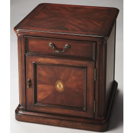 Thayer Plantation Cherry Side Table