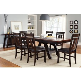 Lawson Pedestal Table Extendable Dining Room Set