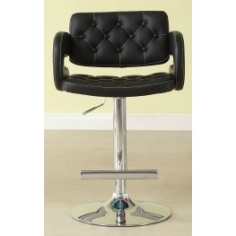 Ride Black Airlift Swivel Stool Set of 2