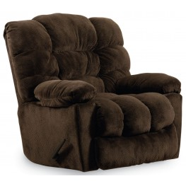 Lucas Champion Chocolate Recliner From Lane Furniture