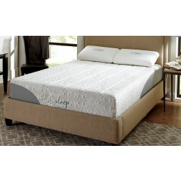 "12"" Gel Memory Foam Queen Plush Mattress"
