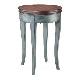 Moonstone Round Accent Table