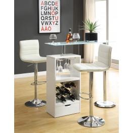 White Revolving Bar Set 120452
