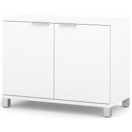 Pro-Linea White 2-Door Storage Unit