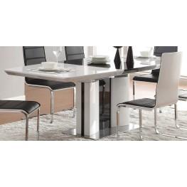 Broderick Modern White Dining Table
