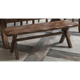 Alston Knotty Nutmeg Bench