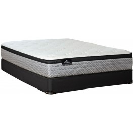 Passions Fantasy Euro Top Full Extra Long Mattress With Low Profile Foundation