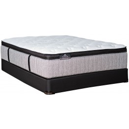 Passions Aspiration Pillow Top King Mattress With Low Profile Foundation
