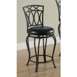 Black Bar Chair 122059