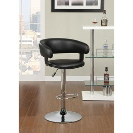Recreation Black Bar Stool