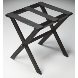 Masterpiece Black Licorice Luggage Rack
