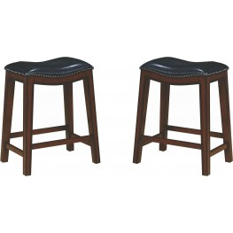 Rec Room Upholstered Counter Height Stool Set of 2