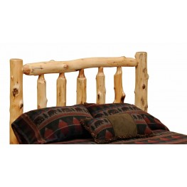 Cedar Full Small Spindle Headboard