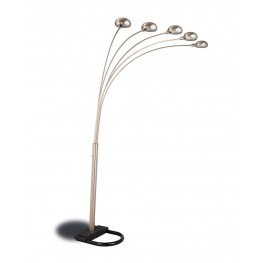 Chrome Overhead Floor Lamp