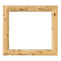 """Cedar Mitered 48"""" Corner Mirror Without Glass"""