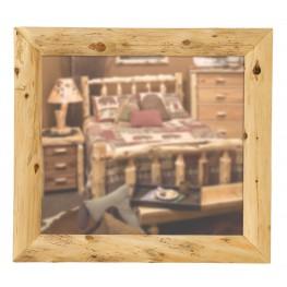 """Cedar Mitered 36"""" Corner Mirror"""