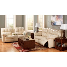 Kennard Cream Power Reclining Living Room Set
