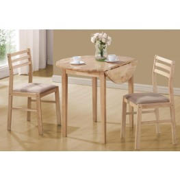 Beige 3 Pcs Dining Set 130006