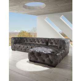Manhattan Coco Brompton Leather RAF Sectional