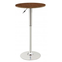 Reck Room Round Adjustable Bar Table