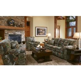 Trapper Mossy Oak New Breakup Reclining Living Room Set