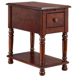 Eldora Black Cherry Accent Table