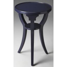 Dalton Loft Blue Round Accent Table