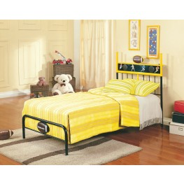Melody Land Football Speaker Metal Bed (Twin)