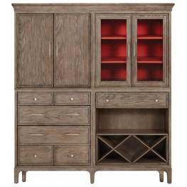 Improv in G Cerused Grey Opposites Attract Armoire