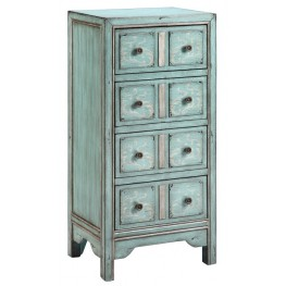 Evelyn Blue Accent Chest