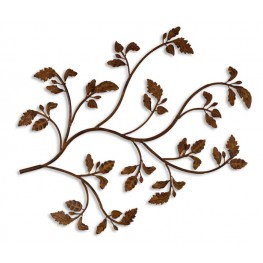 Rusty Branch Metal Wall Art