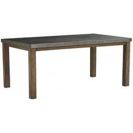 Riverton Dusty Weathered Rectangular Leg Dining Table