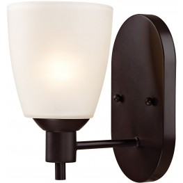 1351WS-10 Jackson Oil Rubbed Bronze 1 Light Sconce