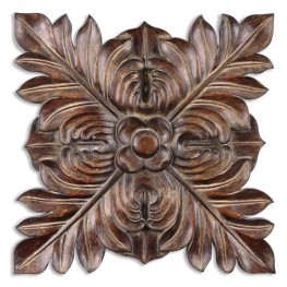 Four Leaves Decorative Wall Plaque