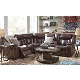 Amaroo Brown Reclining Sectional