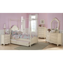 Cinderella Youth Canopy Poster Bedroom Set