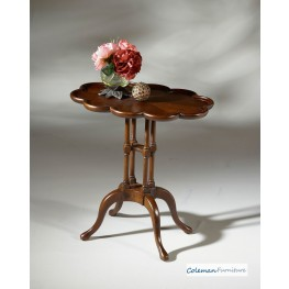 Lloyd Plantation Cherry Oval Accent Table