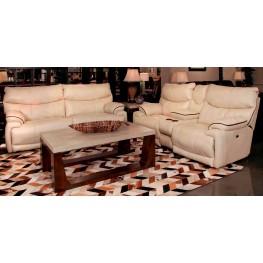 Larkin Buff Reclining Living Room Set