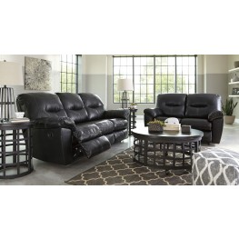 Kilzer DuraBlend Black Reclining Living Room Set