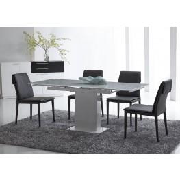 Bonn White Extendable Dining Room Set