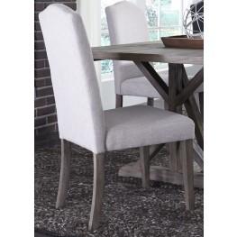 Carolina Lakes Tan Upholstered Side Chair Set of 2