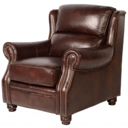 Appalachian Rustic Savauge Leather Chair
