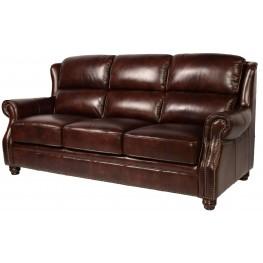 Appalachian Rustic Savauge Leather Sofa
