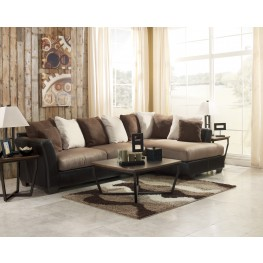 Masoli Mocha Right Arm Facing Sectional