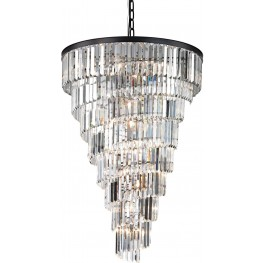 Palacial Oil Rubbed Bronze 14 Light Chandelier